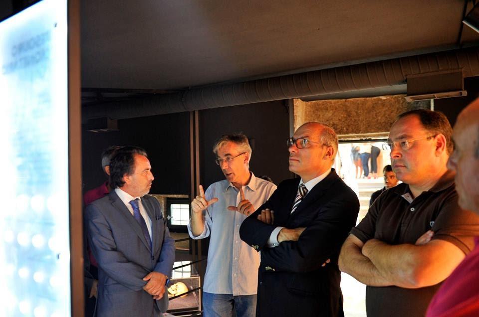 Núcleo Arqueológico da Porta dos Figos abriu portas no Bairro do Castelo