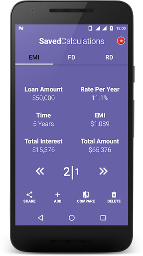 Loan Calculator-EMI, RD & FD Calculator screenshot 7