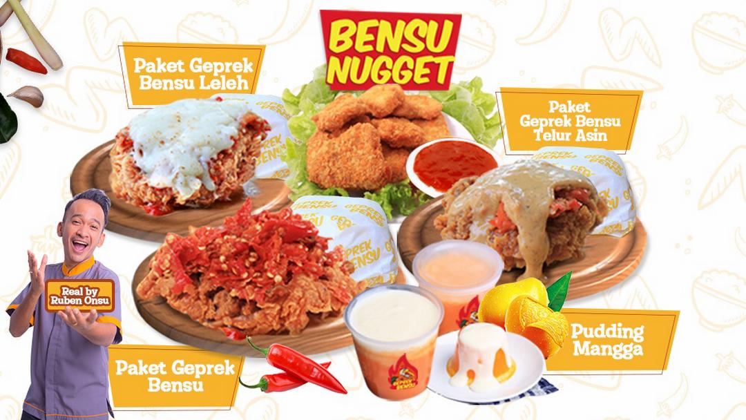 Geprek Bensu Mojokerto Restaurant