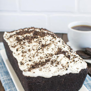 Chocolate Cookies and Cream Banana Bread