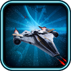 The ultimate galactic spaceship shooter war icon