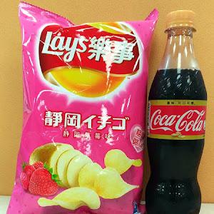 Lay's 樂事洋芋片草莓口味