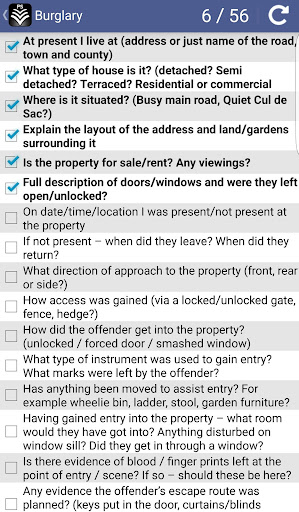 Screenshot for Pocket Sgt - UK Police Guide in Ireland Play Store