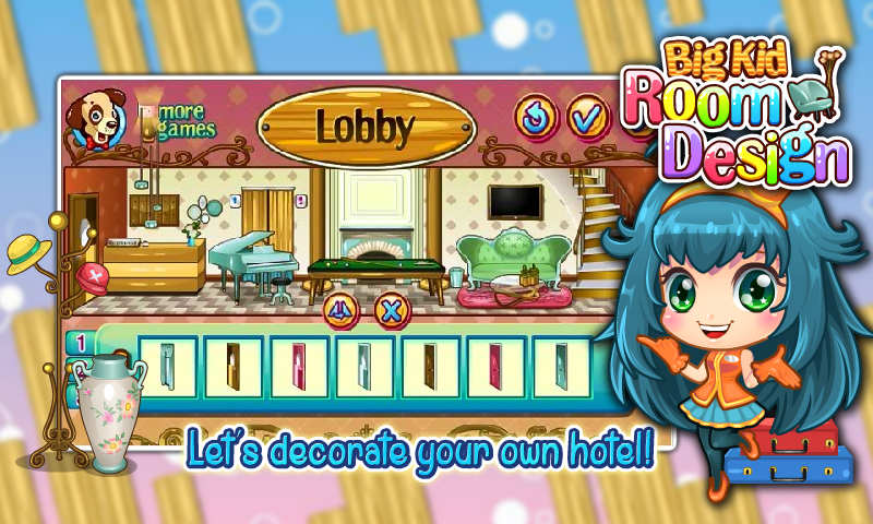 girls game: house decorating - android apps on google play