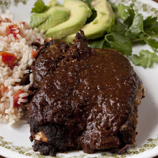 Traditional Mole Sauce.