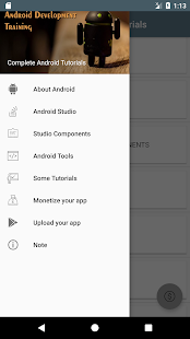 Complete Android Tutorials - náhled