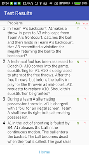 App Basketball Rules Quizzes APK for Windows Phone