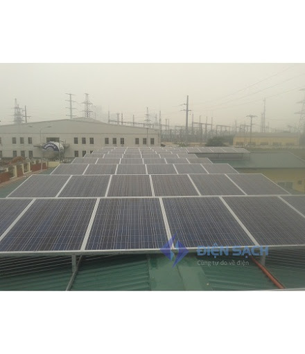 Hệ thống điện mặt trời nối lưới ba pha 30kw