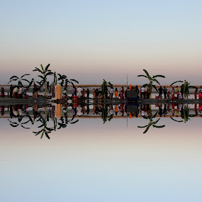 The Reflection  by Som Nath - Landscapes Beaches