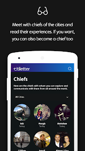 Citiletter - Discover the cities via chiefs- screenshot thumbnail