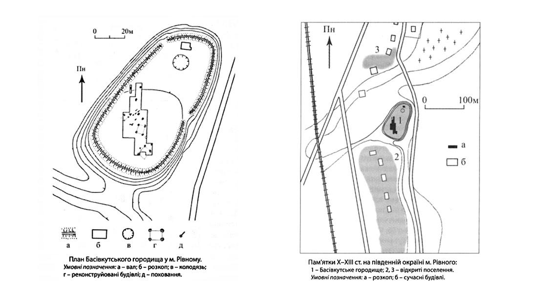 план городища