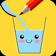 Fill The Glass : Love Draw Puzzle & Make It Smile icon