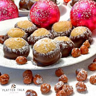Hazelnut Buckeye Holiday Treats.