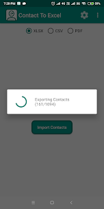 Contact To Excel 2