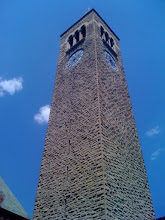 Photo: Cornell clock tower