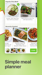 Mealime - Meal Planner, Recipes & Grocery List APK screenshot thumbnail 4