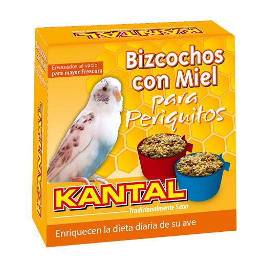 Alimento Para Mascotas Bizcochos Con Miel Para Periquitos 4und