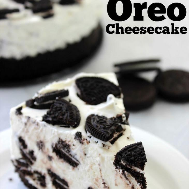 No Bake Oreo Cheesecake Recipe