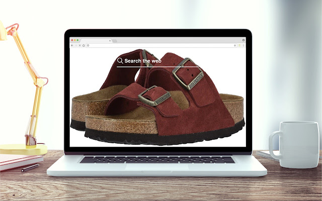 Birkenstock New Tab Fashion Theme