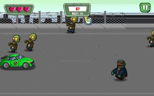 Zombie Road Attack 1.0 screenshots 4