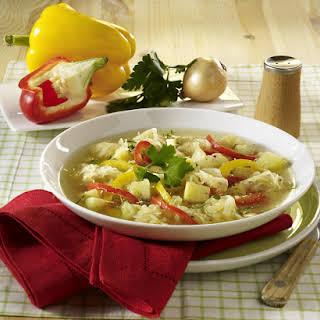 Potato and Cabbage Soup.