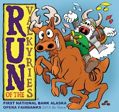 Photo: Opera Fairbanks: Run of the Valkyire 2015 logo