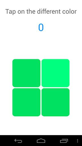 Color vision Test Game