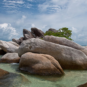 The Rock! by Lessy Sebastian - Landscapes Weather