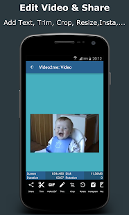 Video2me:Gif Maker,Video Edit- screenshot thumbnail