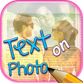 Write Text on Photo Editor App