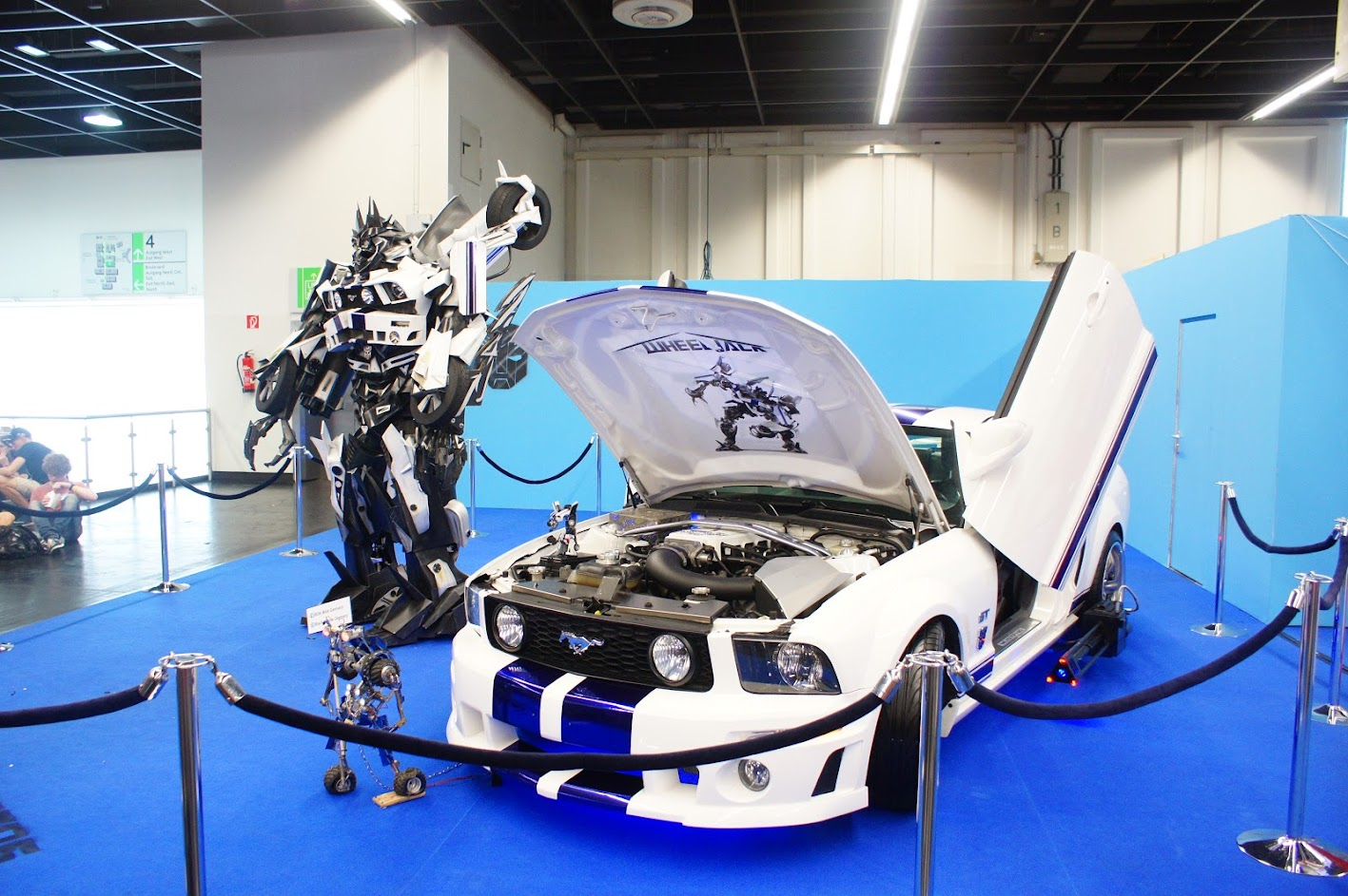 Gamescom 2015 Wheeljack Transformers