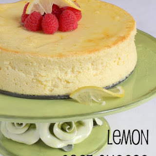 Lemon Goat Cheese Cake
