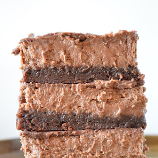 Chocolate Cheesecake Brownie Bars