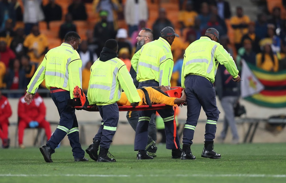Joseph Molangoane suffers horrific broken leg in Chiefs win over FS Stars