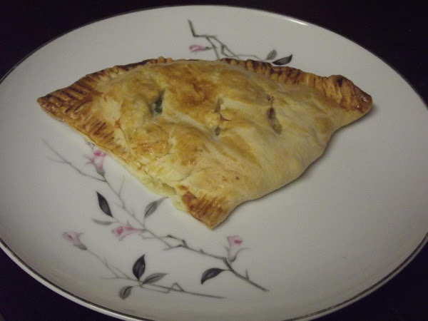 Chicken Pot Pie Turnovers Recipe