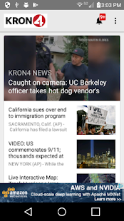 KRON4 News - San Francisco- screenshot thumbnail