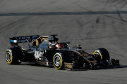 Haas's Kevin Magnussen in action during F1 pre-season testing at Barcelona. Image: REUTERS/Albert Gea