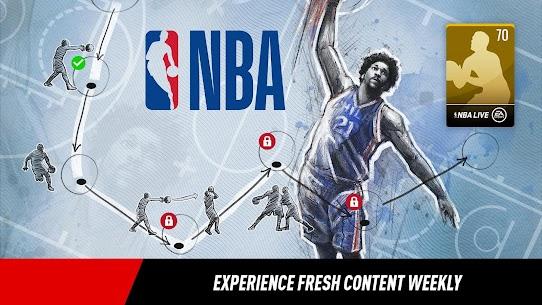 NBA LIVE Mobile Basketball MOD (Unlock Full) 3