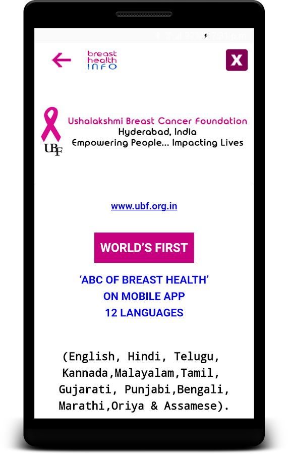 ABC OF BREAST HEALTH- screenshot