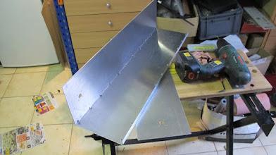 """Photo: Assemblage à l'aides de cornières et rivets """"pop"""" de 3,2x6mm inox"""