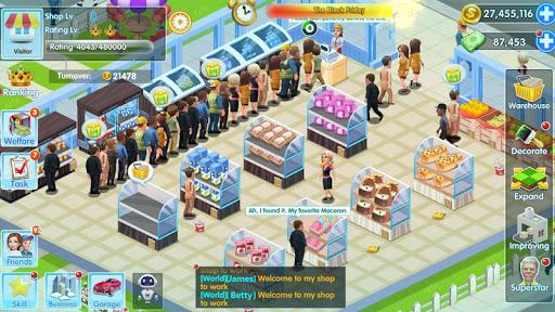 Télécharger My Supermarket Story: Simulez un magnat de magasin APK MOD (Astuce) screenshots 4
