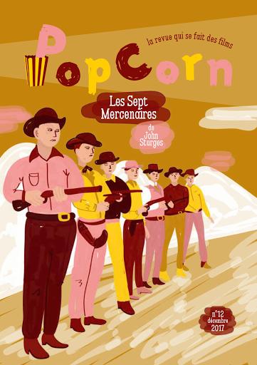 PopCorn n°12 Les Sept Mercenaires éditions du maïs soufflé