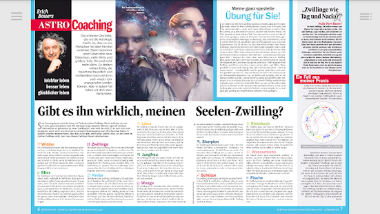 Astrowoche - Horoskop-Magazin - náhled