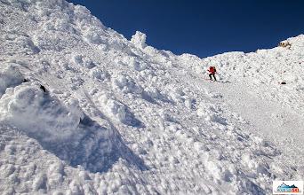 Photo: Cauliflower snow just below the summit of Koryaksky