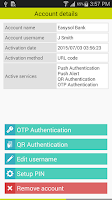 Screenshot of DetectID Authenticator
