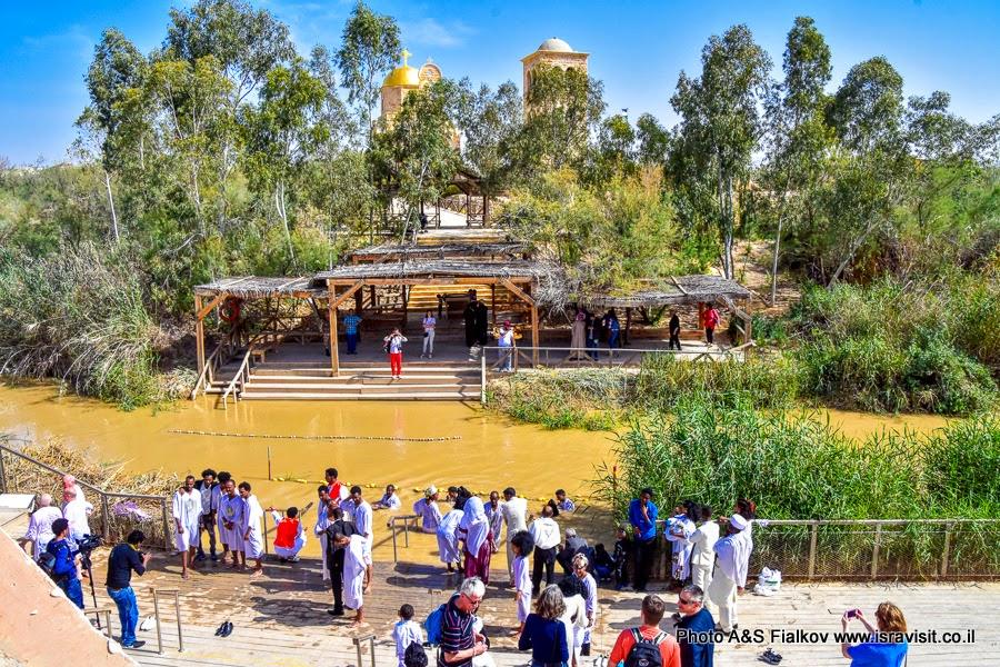 Место крещения Иисуса Христа в реке Иордан. Каср аль-Яхуд.