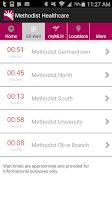 Screenshot of Methodist Healthcare
