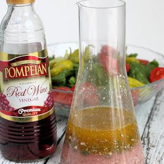 Red Wine Vinegar Greek Salad Dressing.