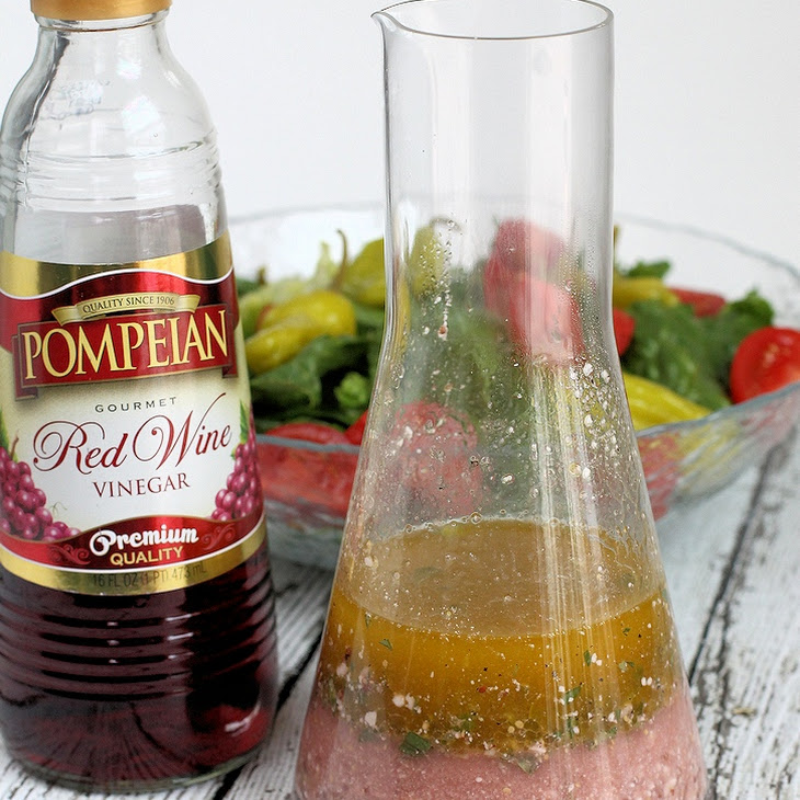 Red Wine Vinegar Greek Salad Dressing Recipe