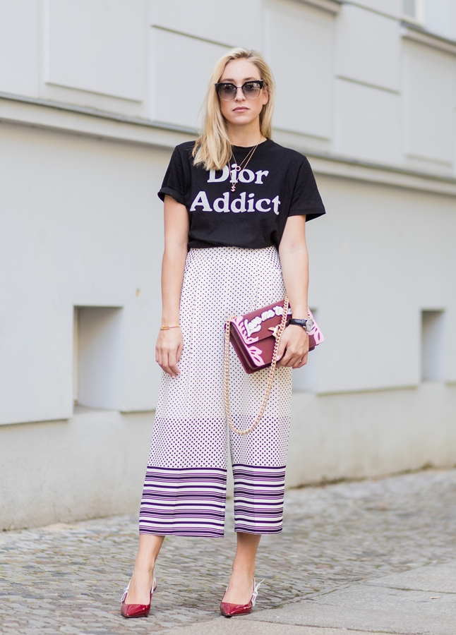 Culottes are a must this summer.
